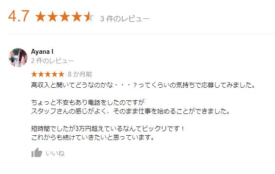 ブライトグループ渋谷口コミ①