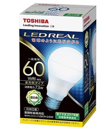 東芝LED照明②