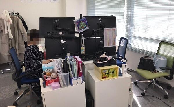 アスタリスク大阪の女性スタッフ