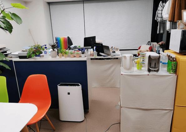 オフィスも清潔感がありおしゃれ