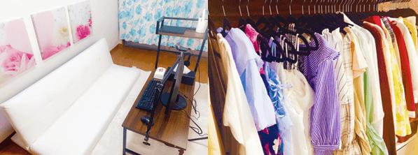 アスタリスク神戸のチャットルームやレンタル衣装